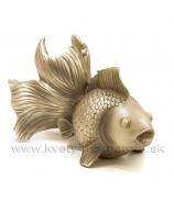 Zlatá rybka platinová 25cm