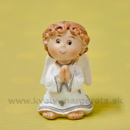 Anjelik ANGEL chlapček modliaci sa 6cm