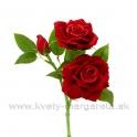 Trojruža 2 kvety 1 púčik 37cm