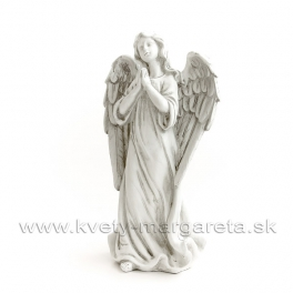 Anjel strážny modliaci sa patina 31cm