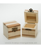 Drevená krabička Natur