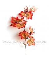 Jesenné listy s bobuľami vetvička 64cm