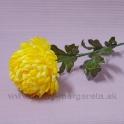 Chryzantéma na stonke žltá 71cm