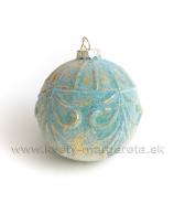 Guľa Ornament Tyrkys 8cm