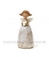 Anjelik Copánky so srdiečkom 11cm