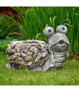 Slimák obal v ulite záhradná keramika 29cm