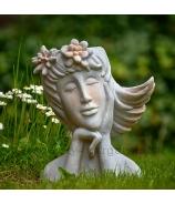 Snívajúce dievča obal na kvet 34cm