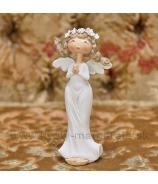 Anjel Amélia modliaci sa 15cm biely
