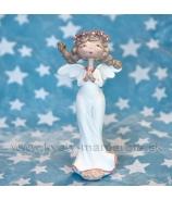 Anjel Amélia modliaci sa 15cm krémovy