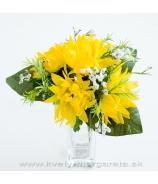 Chryzantémová kytica žltá