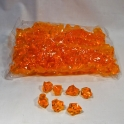 Akrylátové kryštály oranžové