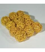 Guľa Lata ball žlté 5cm