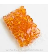 Akrylátové kryštály 1,5cm oranžové