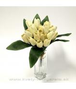 Tulipánová kytica Vanilla cream