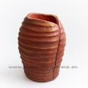 Váza lastúra hnedá 30cm