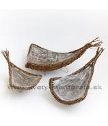 Koše zrezané rohy - 3ks