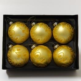 Gule flokované žlté 6 kusov - II. Trieda - zľava 50%  c42ee4dea42