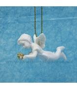 Anjelik letiaci s drahokamom