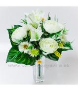 Ranunculusy s laliami bielymi - zľava 50%