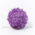 Guľa chlpatá závesná fialová - zľava 50%
