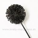 AKCIA ZLAVA -50% Allium vianočné čierne glitter