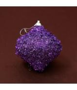 Vianočná cibuľka lupienky fialová 8cm 3ks - zľava 40%