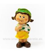 Dievčatko Dorotka zelená