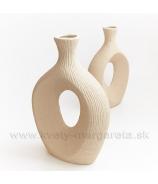 Keramika Letokruhy Oko 35cm pieskové