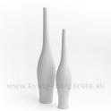 Keramika Letokruhy Píšťala 40cm biela - zľava 50%