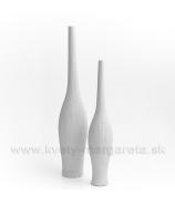 Keramika Letokruhy Píšťala 40cm biela