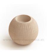 Keramika Letokruhy Guľa svietnik veľký pieskový