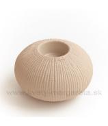 Keramika Letokruhy Elipsa svietnik malý pieskový