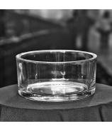 Misa sklenená číra 15cm
