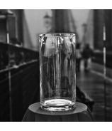 Sklenená váza valec 40cm