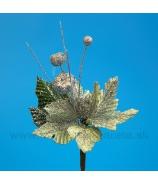 Pick Poinsettia glitter Pistácia