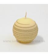 Sviečka guľka Andalo Vanilka 6cm