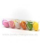 Farebné veľkonočné vajcia 6ks