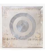 Obraz na plátne Strieborné kruhy 30cm zľava  - 40%