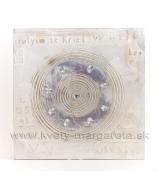 Obraz na plátne Kružnice fialové s drahokamami 40cm zľava  - 40%