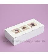 Vintage krabička na čaj s kachličkou Tulipány & Romantic Rose & Lavender