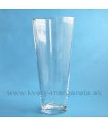 Váza sklenená Classic Conus 50cm