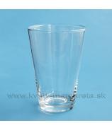 Váza sklenená Classic Conus 40cm