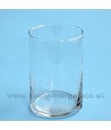 Váza sklenená Válec 30cm