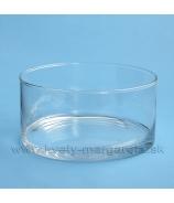 Váza sklenená Válec 20cm
