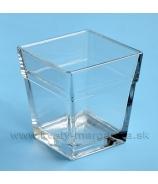Nádoba sklenená Classic hranol 22 cm