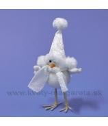 Vtáčik Pepito so šálou