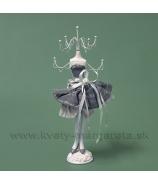 Stojan na šperky MARYLIN 30cm biela rúžová hnedá