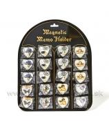 Magnety na magnetickej tabuli Levanduľa, Motýľ, Anjel 20ks