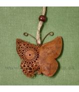 Motýľ hrdzavý Rusty 6cm