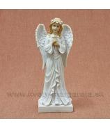 Anjel Strážny s venčekom 30 cm